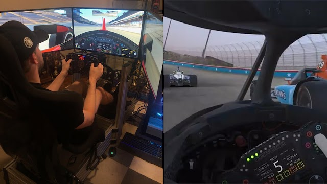 Exclusive: IndyCar's Sage Karam is ready for virtual racing during the coronavirus crisis