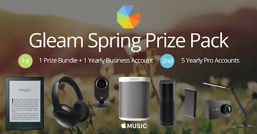 Gleam Entrepreneur Bundle Contest