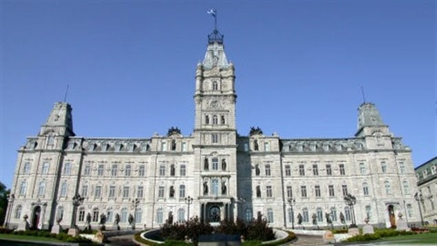 Le bâtiment de l'Assemblée nationale