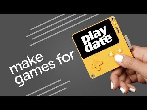 Playdate la pequeña consola de mano con manivela se retrasa a 2021