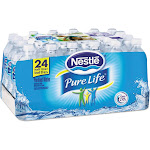 Forest Grass USA Pure Life Purified Water, 16.9 oz Bottle, 24/Carton