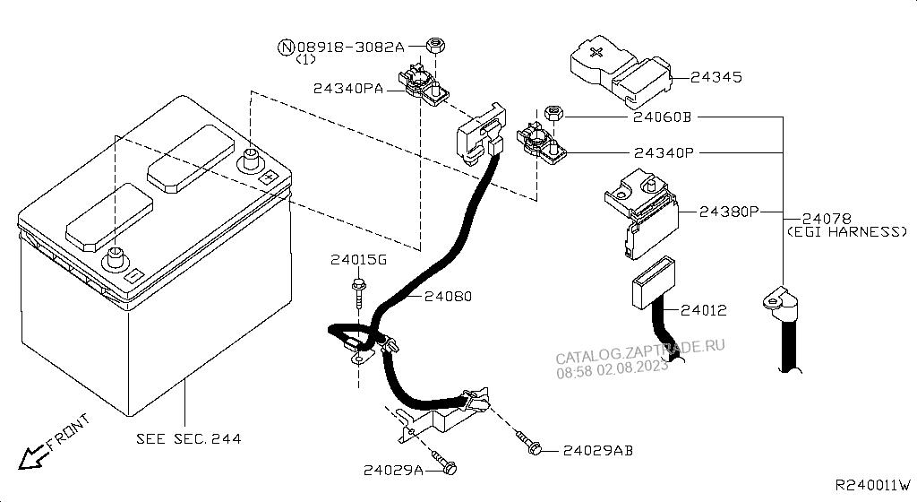 Nissan Sentra Parts Catalog