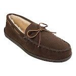 Minnetonka Men's Pile Lined Hardsole