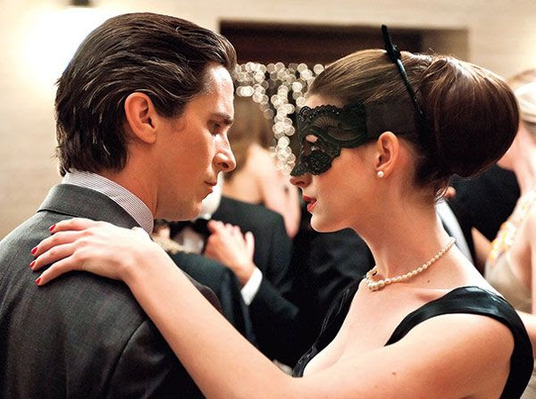 Selina Kyle is about to make Bruce Wayne feel guilty about being rich in THE DARK KNIGHT RISES.