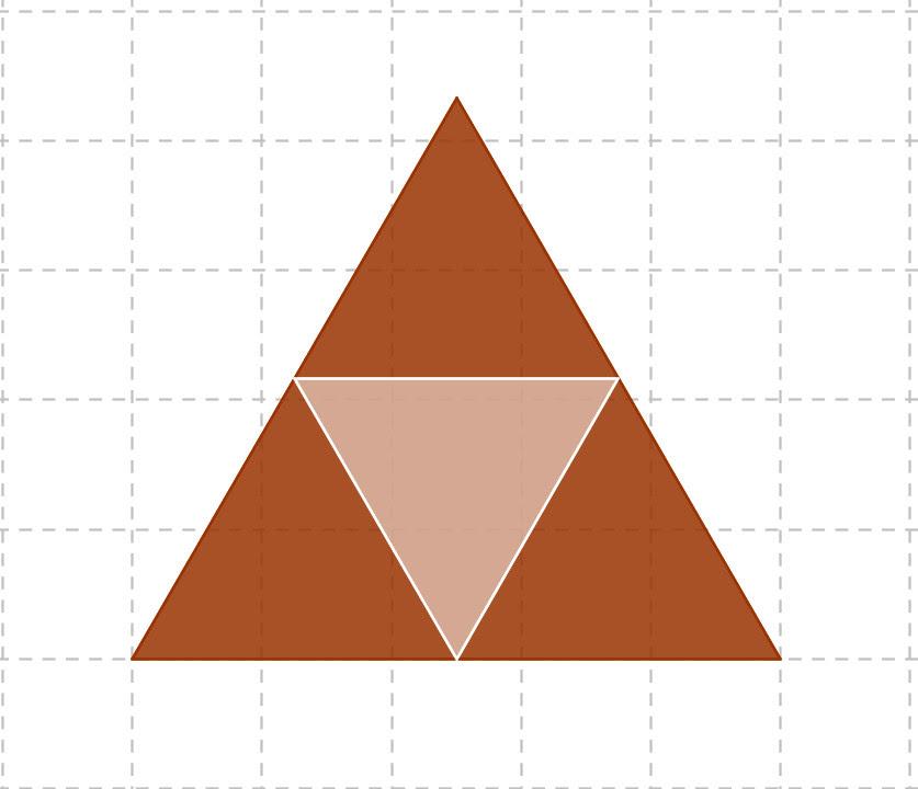 Resultado de imagen de triangulo de sierpinski construir