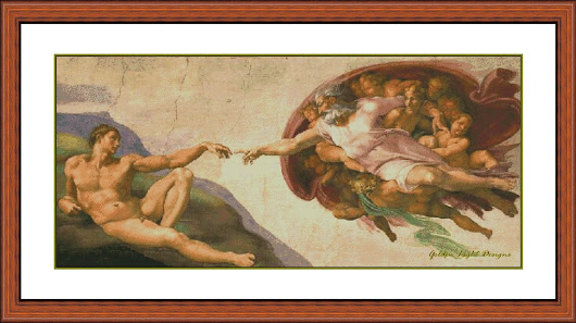 035-PN The Creation - Sistine Chapel