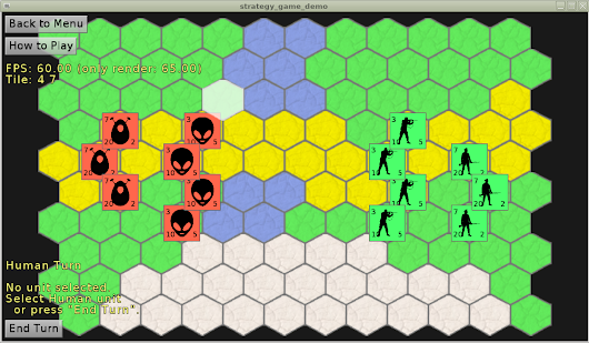 Strategy Game Demo using CGE and Tiled