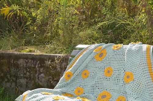 granny blanket finished