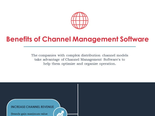 5 Benefits of Channel Management Software - Infographic