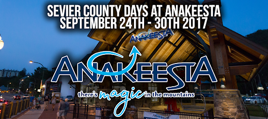 ANAKEESTA HOSTS FREE SEVIER COUNTY DAYS SEPTEMBER 24th – 30th - Hometown Sevier
