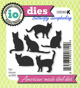 Slikovni rezultat za Cats Die Cutting Dies by Impression Obsession