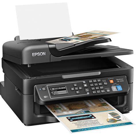 epson workforce wf     inkjet printer