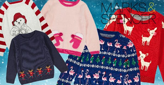 Marks and Spencer's range of kids' Christmas jumpers are the cutest | OK! Magazine