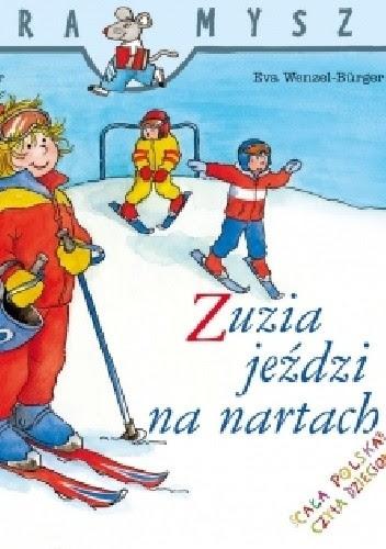 Okładka książki Zuzia jeździ na nartach