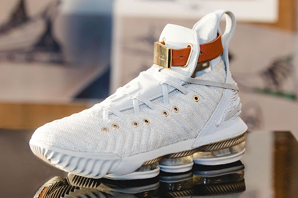 861a0670bba Harlem s Fashion Row Gives the LeBron 16 A Luxe Makeover. Nike and LeBron  James ...