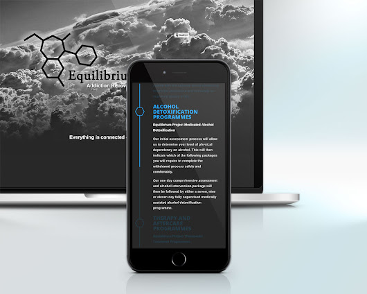 Equilibrium Project - Isle of Wight web design