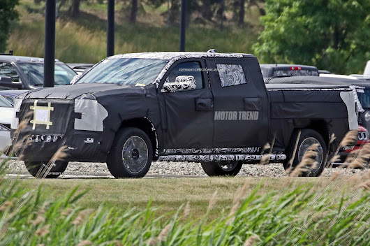 Spied! Next-Gen Ram 1500 Shows off Extra Large Cab - Motor Trend