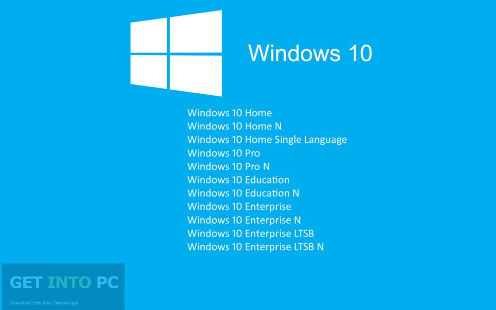 windows 10 education version download