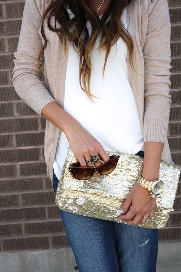 Sparkles and neutrals