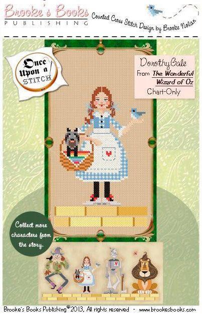 Dorothy Wizard of Oz cross stitch