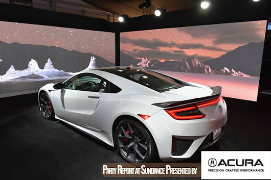 Sundance 2018 Augmented Reality Art: Inside the NSX Gallery at the Acura Lounge
