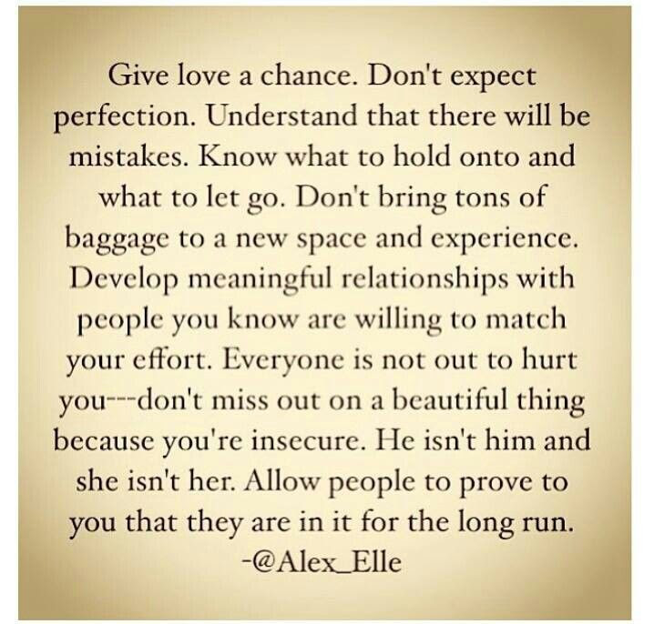 Quotes About Giving Us A Chance 58 Quotes