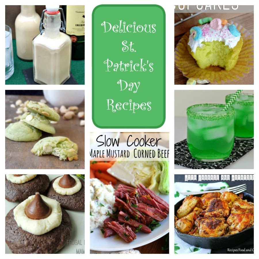 7 Lucky St. Patrick's Day Recipes- make your St. Patty's Day celebration complete with these tasty recipes
