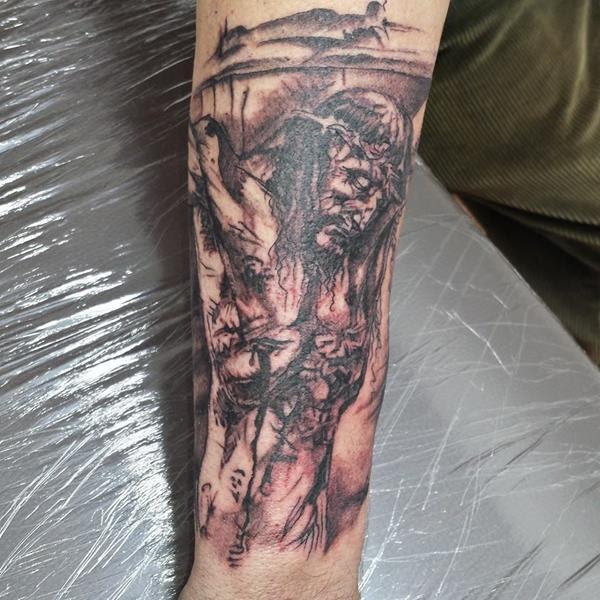 Relig Tatuajes Madrid Dic2014 Cristo Tatuajes Online