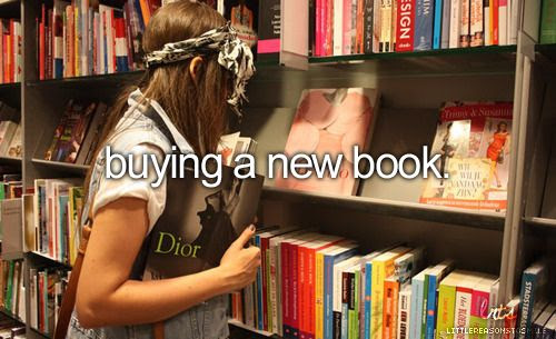 buying a new book