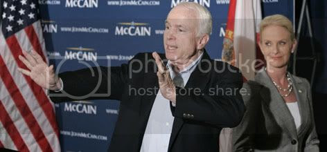 McCain Going Strong