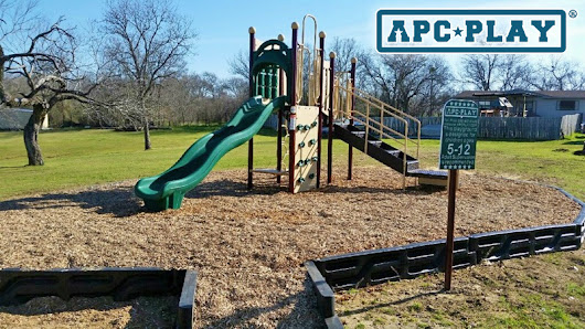 APCPLAY Brings New Ways to Have Fun at the YMCA of Corsicana with New Playground