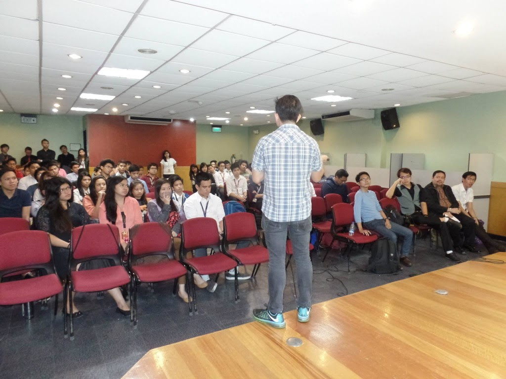The VoiceMaster Speaks at iMarketing Seminar in Mapua