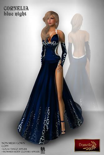 DANIELLE Cornelia Blue Night