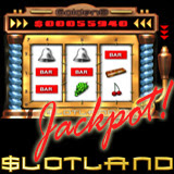 Slotland - slot machines and video poker, progressive jackpot winner