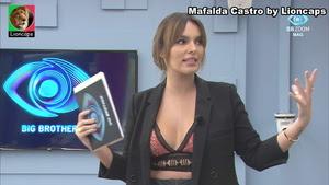 Mafalda Castro sensual nos diarios do BB2020