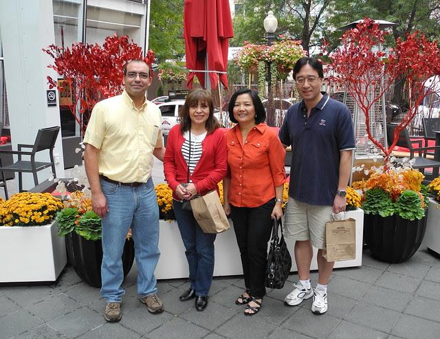 Larry, Mariana, Virginia and Dr. John