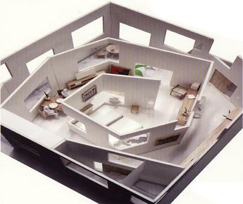 Sou Fujimoto's house within a house