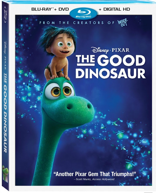 Disney's The Good Dinosaur Blu-ray + DVD Giveaway - Comic Con Family