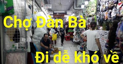 Chợ Đại Quang Minh là Chợ phụ kiện lớn nhất sài gòn - Chợ Đàn Bà