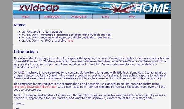 xvidcap 8 Aplicaciones gratis para grabar la pantalla del ordenador