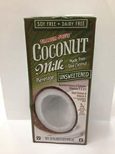 Trader Joe's Coconut Milk Beverage Unsweetened: Amazon.com: Grocery & Gourmet Food