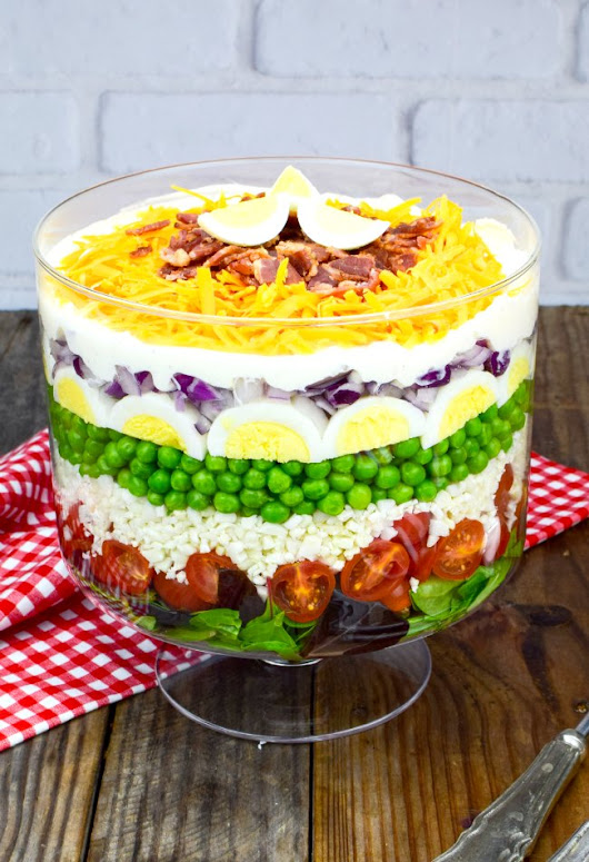 7 Layer Salad Recipe-Make-Ahead Classic Favorite