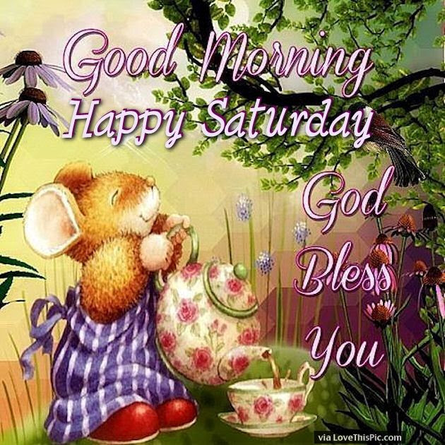 Good Morning And Happy Saturday God Bless You Pictures Photos And