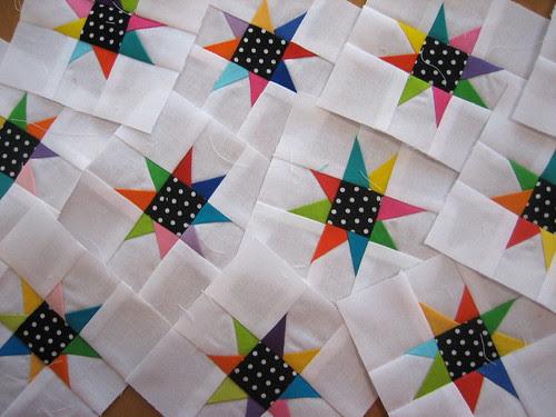 White stars