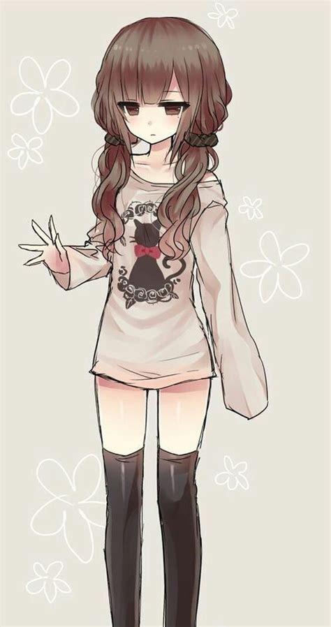 pin  tabitha napolitano  cute anime girl p