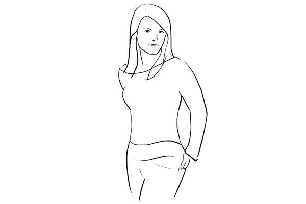 Позирование: позы для женского портрета 1-14
