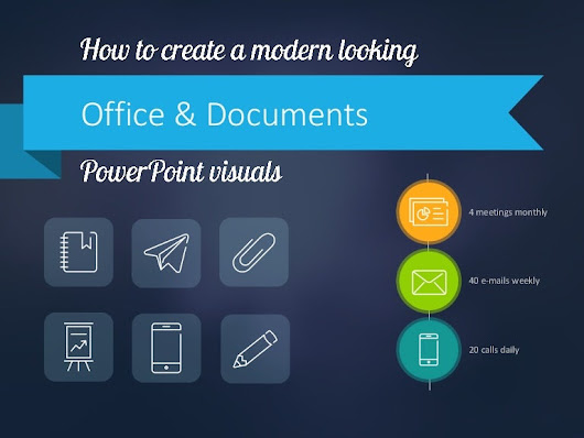 How to Show Office & Documents on PPT Slide
