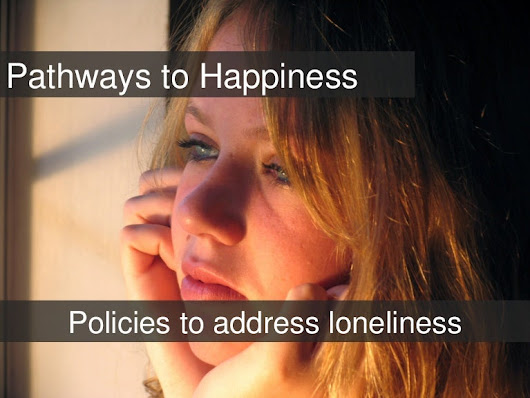 Pathways To Happiness for Social Support - how government can address…