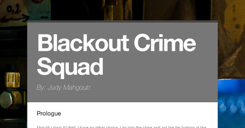 Blackout Crime Squad