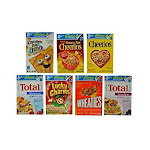 General Mills Assorted Favourites Cereal - 70 per case.